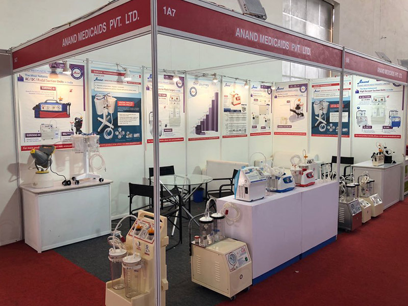 Anand Suction Unit in Arab Health