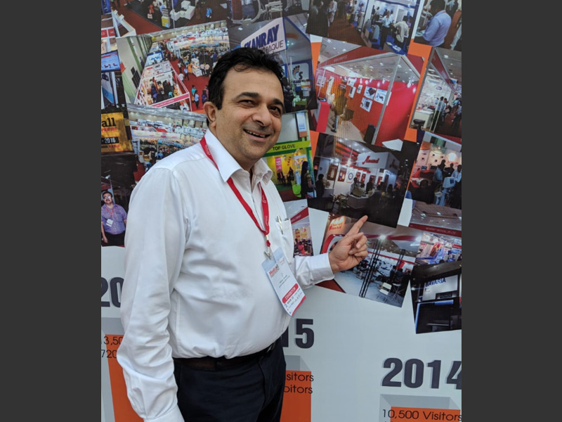 Vishal Anand in Arab Health