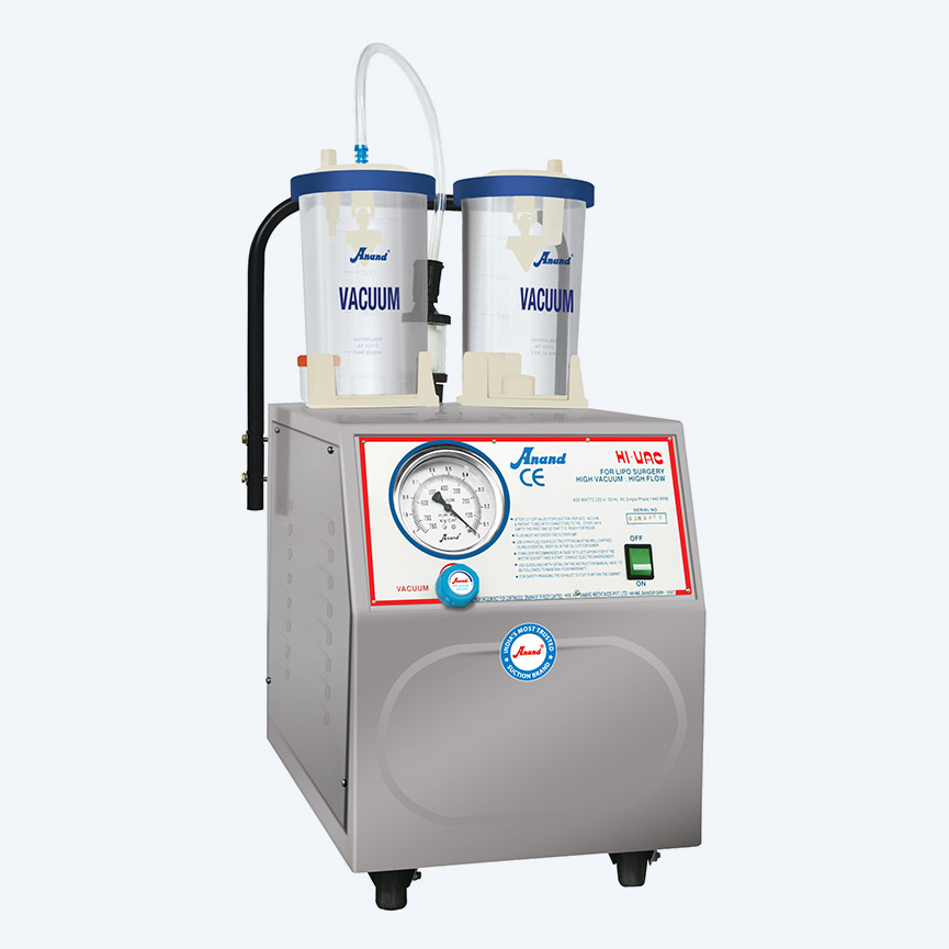 HI-VAC Pluss 90, High Vacuum Suction Unit