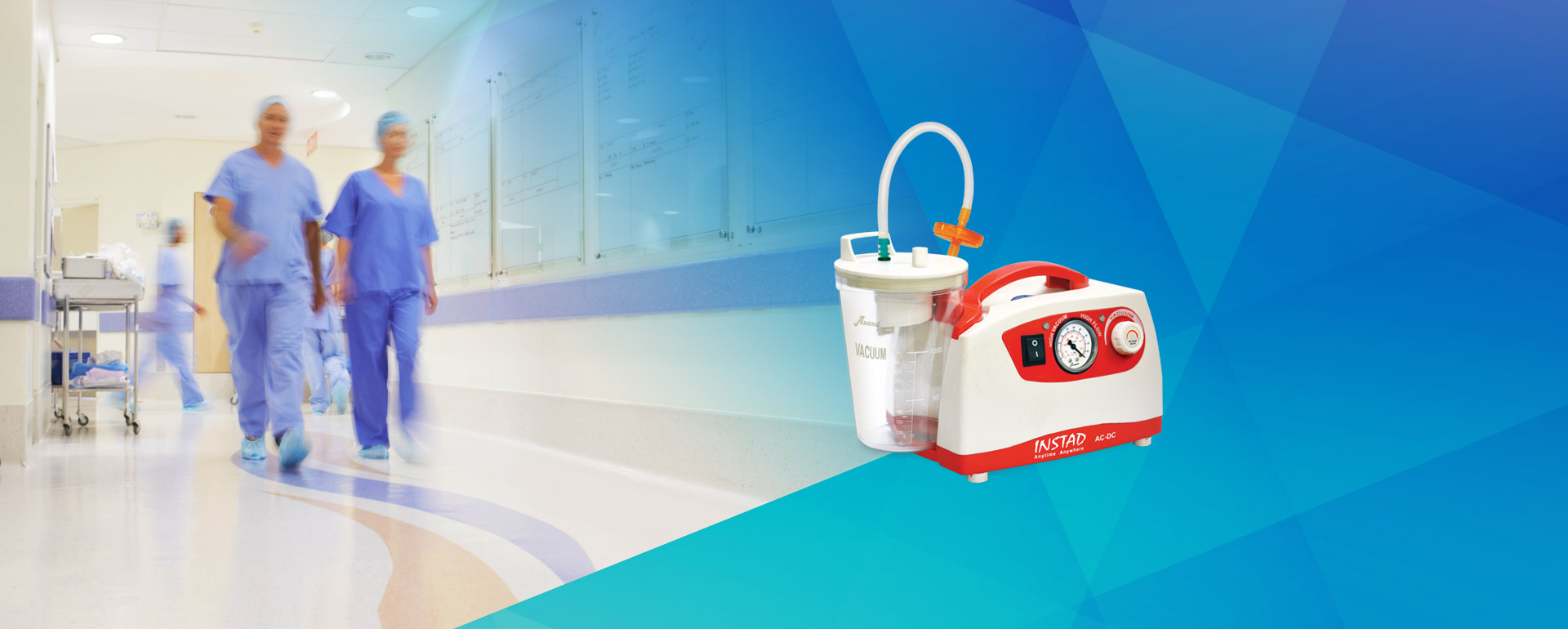 Battery Suction Banner