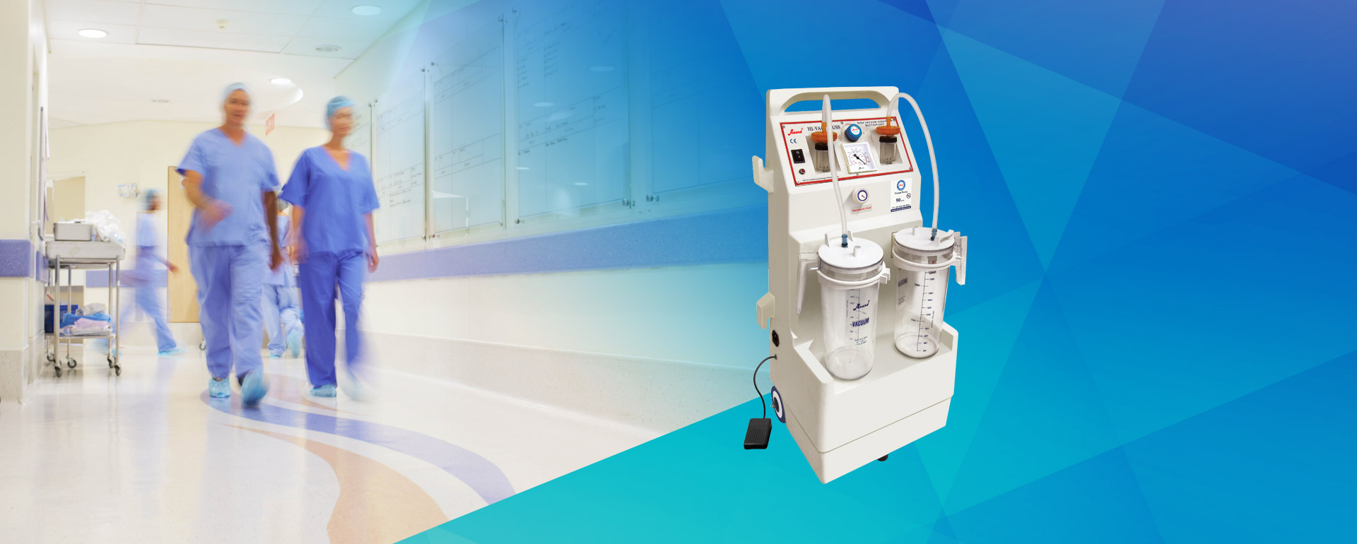 High Vacuum Suction Banner