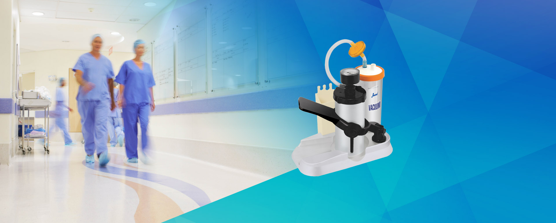 Manual Suction Banner